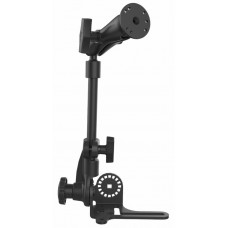 "RHD Universal No-Drill™ RAM POD HD Vehicle Mount with Double Socket Arm & 2.5"" AMPS Round Base"